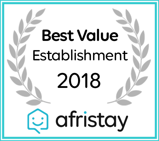 Clivia Lodge and Conference Centre received a 2018 Best Value Accommodation Award